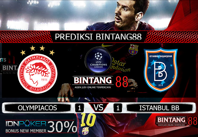 PREDIKSI BOLA  OLYMPIACOS VS ISTANBUL BB 14 AGUSTUS 2019