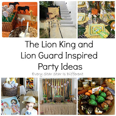 The Lion King and Lion Guard Inspired Party Ideas
