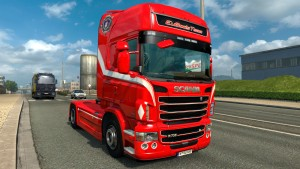 Red Dragon Skin for Scania RJL