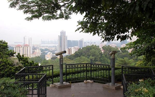 Ngắm nhìn toàn cảnh Singapore tại đồi Mount Faber