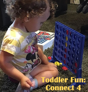 Toddler fun: Connect 4