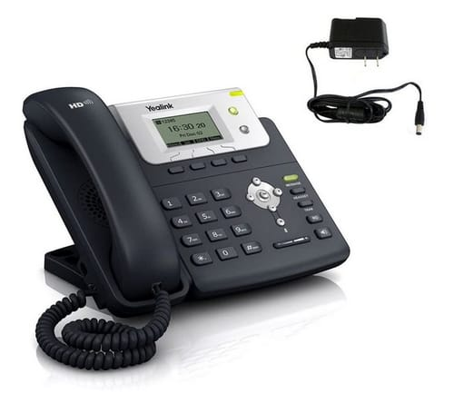 Yealink SIP-T21 HD Voice VoIP Phone w/ 2 Lines