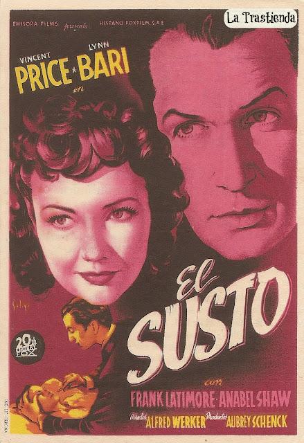 Programa de Cine - El Susto - Vincent Price - Lynn Bari