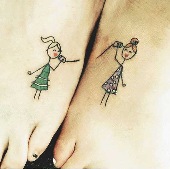 sister tattoos quotes