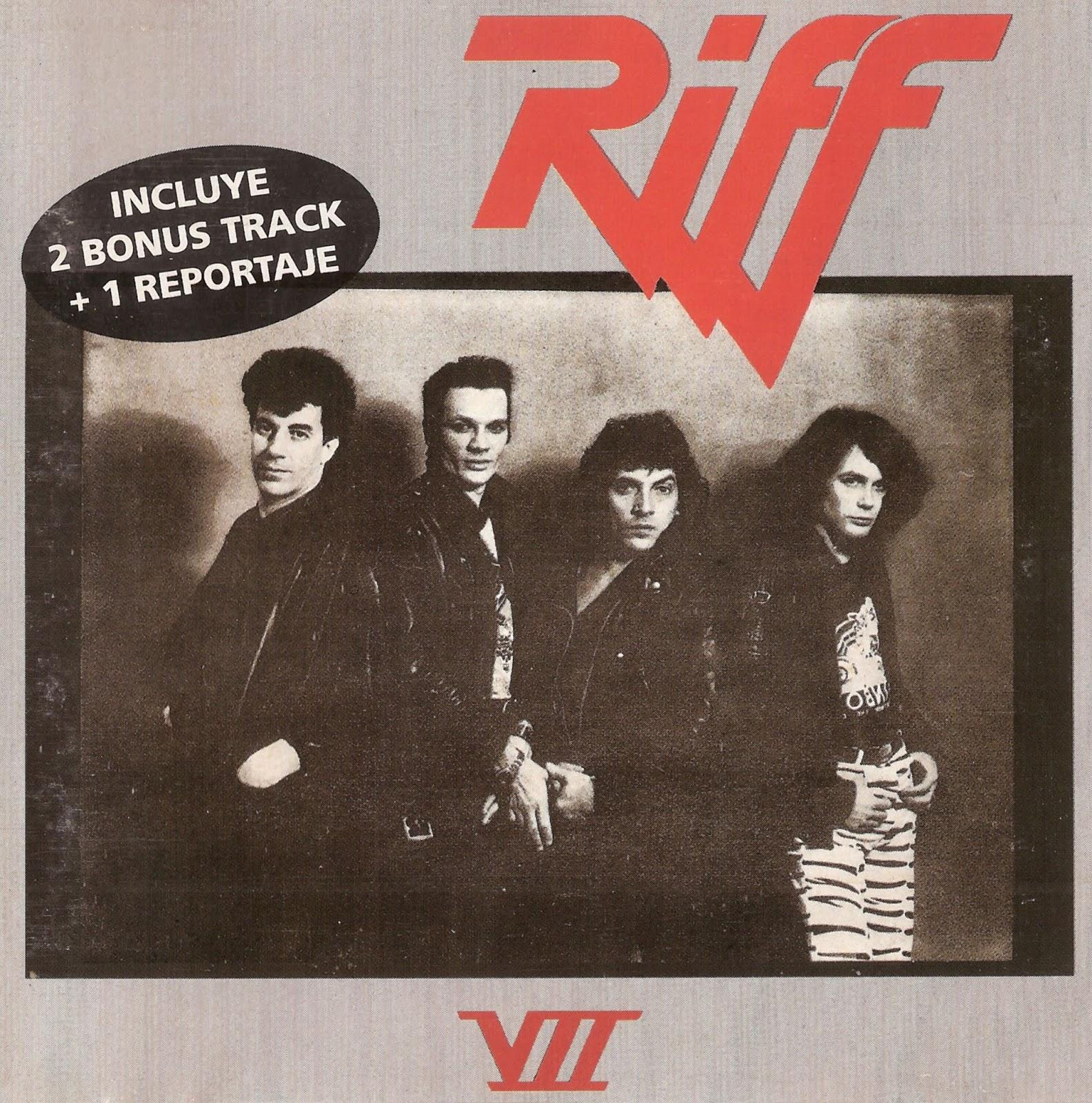 La Nave Del Rock Argento: Riff - Riff VII + Bonus (FLAC - 1985)