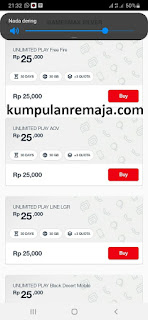 beli GamesMAX Unlimited Play 30GB Di My telkomsel