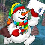 G4K Comely Snowman Escape