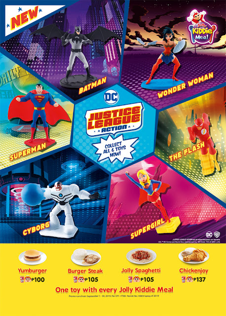 Save the Day with Jollibee's Justice League Kiddie Meal Toys