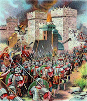 Roman Armies attacks Jerusalem