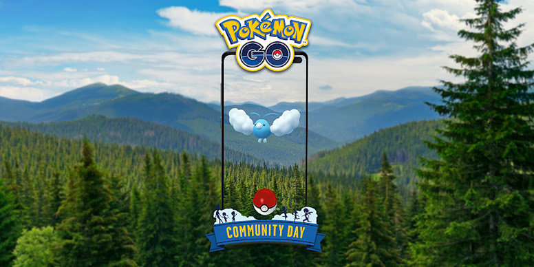 Swablu Dia Comunitário Pokémon GO