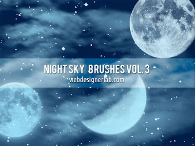 nigh sky brushes