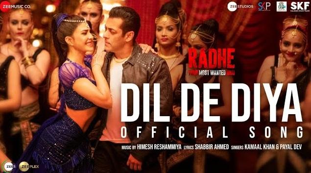 Dil De Diya Lyrics - Radhe Ft Salman Khan