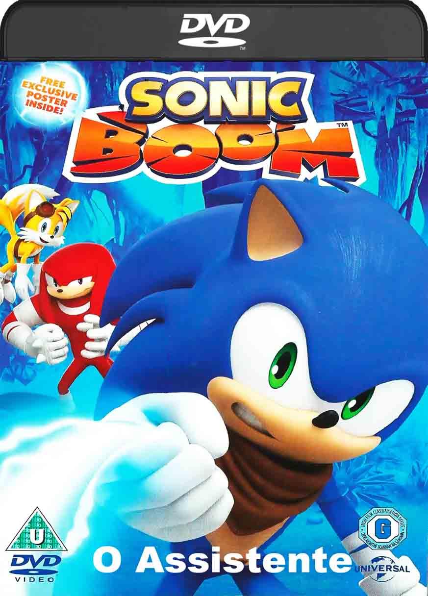 Sonic Boom – o Assistente (2017) DVD-R Oficial