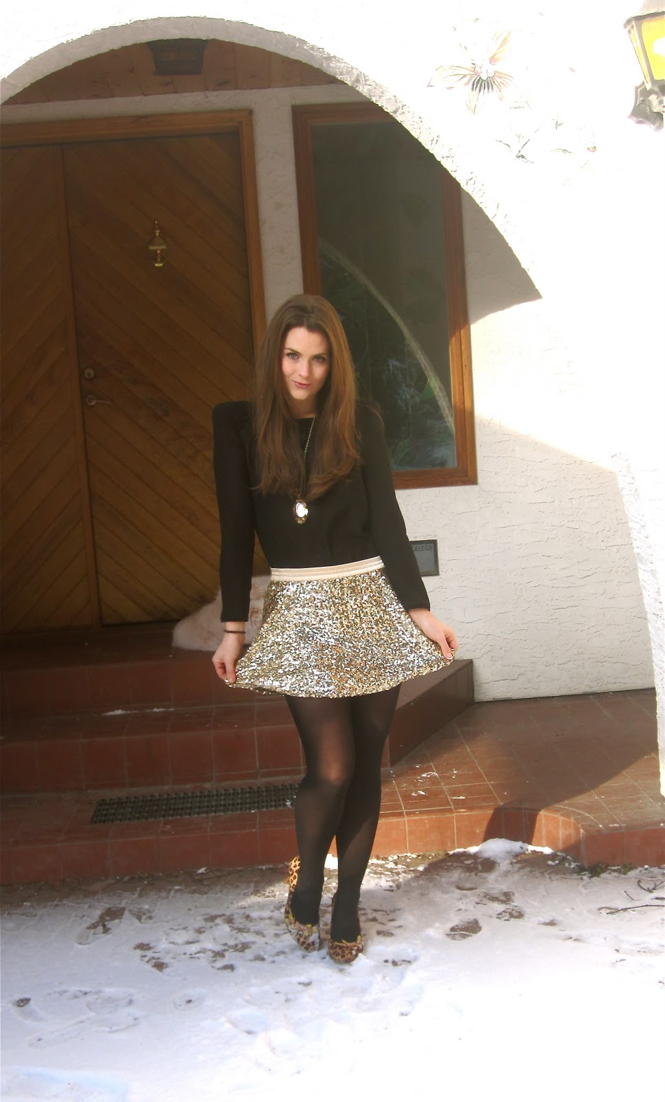 eb4aaadd59b5c Shoulder pad silk blouse  Zara