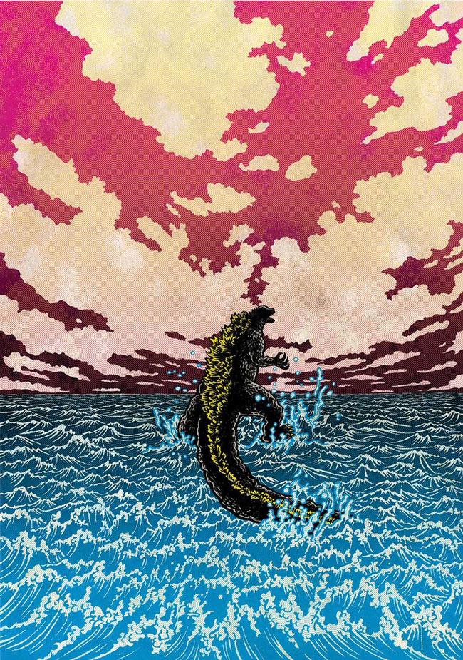 ARTIST: Yuko Shimizu (JP) - Godzilla: Showa Era BluRay Collection