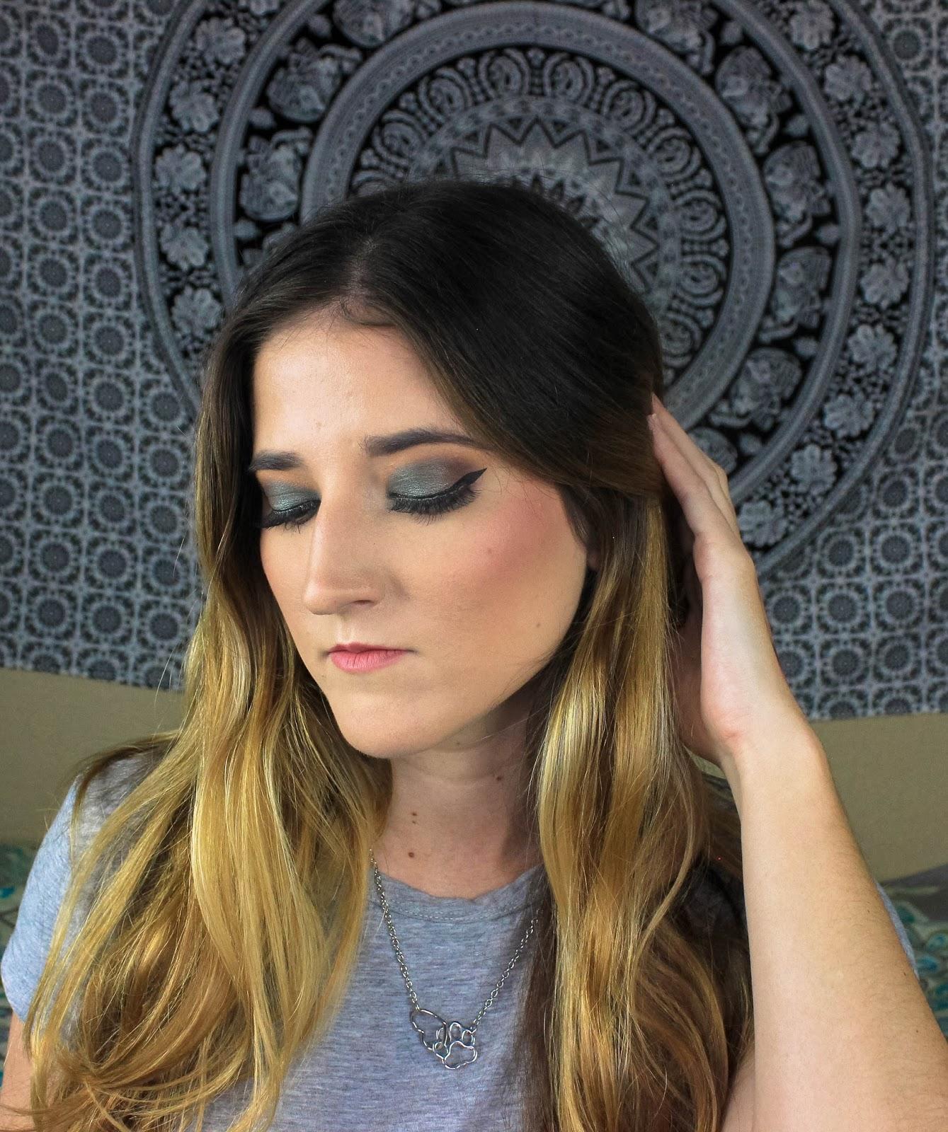 Nyx prismatic eyeshadow tutorial and ipsy glam bag december make mint pear blending sponge baditri Choice Image