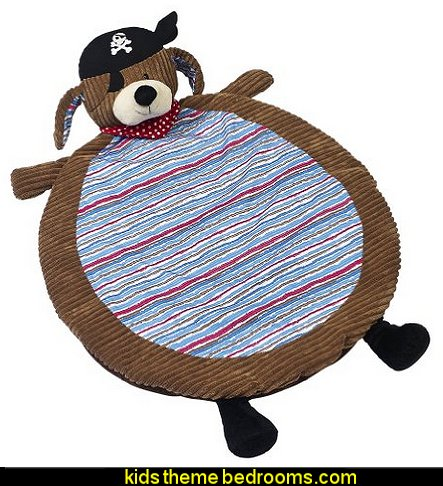 Maison Chic Patch Nap Mat, The Pirate Dog
