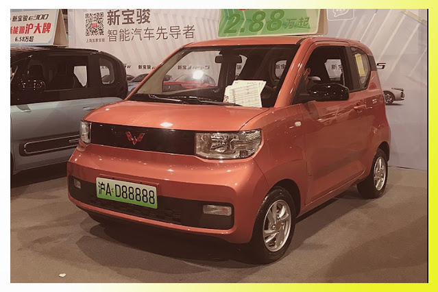 hong guang mini EV