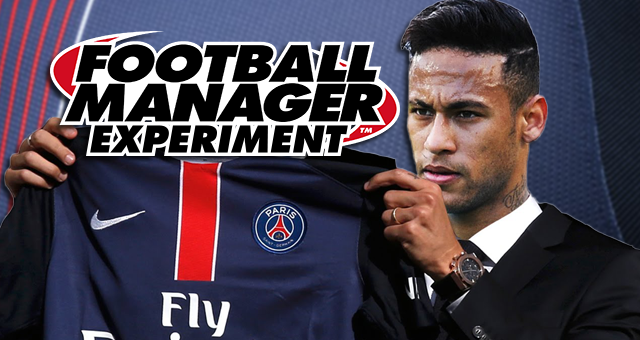 Neymar to PSG - Football Manager Experiment