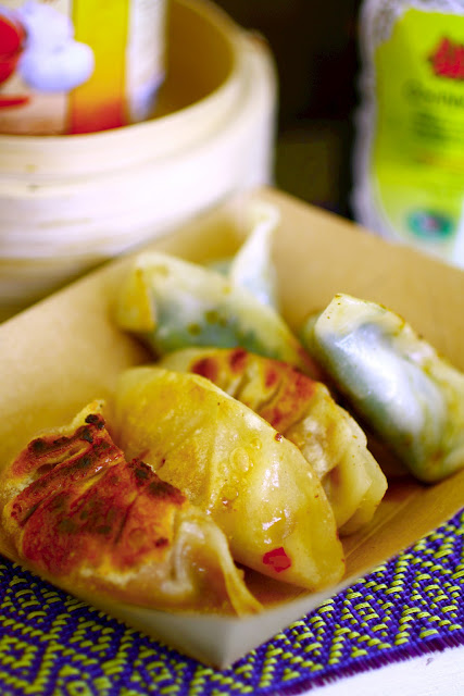 Foodies Festival, Syon Park - I found a stall selling my dream gyoza, The Ugly Dumplings.  Crispy fried bottoms, perfectly soft steamed tops and packed with juicy fillings!