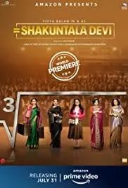 Shakuntala Devi Movies on amazon