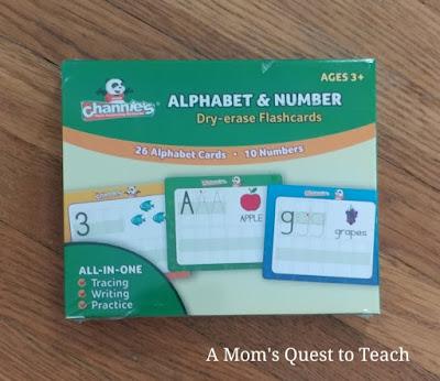 Alphabet & Number flashcards