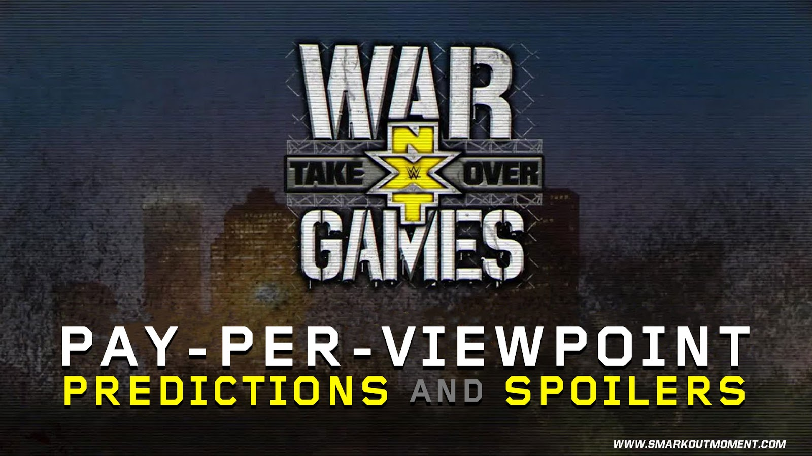 WWE NXT TAKEOVER: WARGAMES spoilers podcast