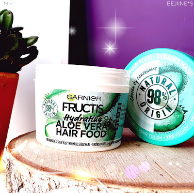 Masque Fructis Hair Food de Garnier - Aloé Véra