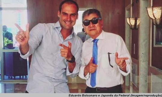 www.seuguara.com.br/Japonês da Federal/Eduardo Bolsonaro/