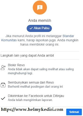 1 report akun fb