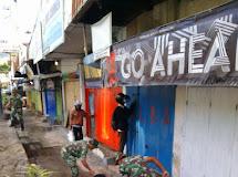 TNI Gotong-royong Bersihkan Pasar