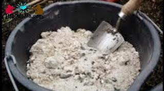 Abu dapur dapat digunakan untuk pupuk organik