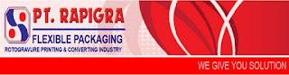 Info Loker Terbaru SMK Via Email PT. RAPIGRA Cikarang
