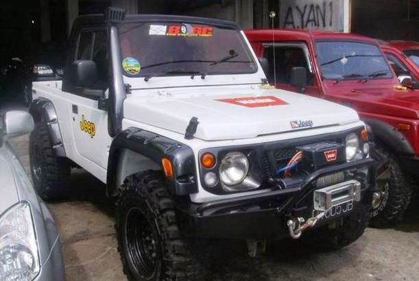 Foto Foto Modifikasi Suzuki Jimny Katana Gambar Photo