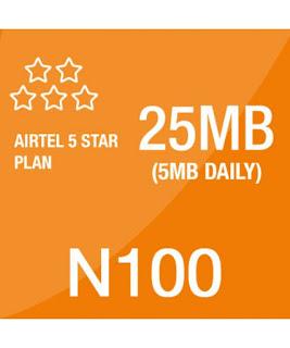 airtel 5 star pack