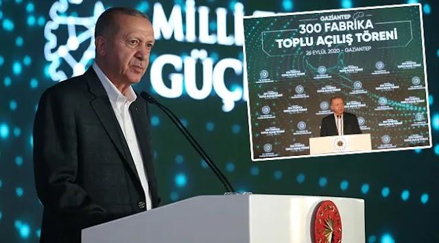 Gaziantep'te 300 fabrikanın açılışı gerçekleşti
