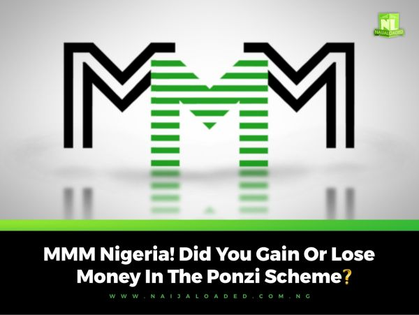 Let's Discuss! Did You Lose Or Gain Money In The MMM Ponzi