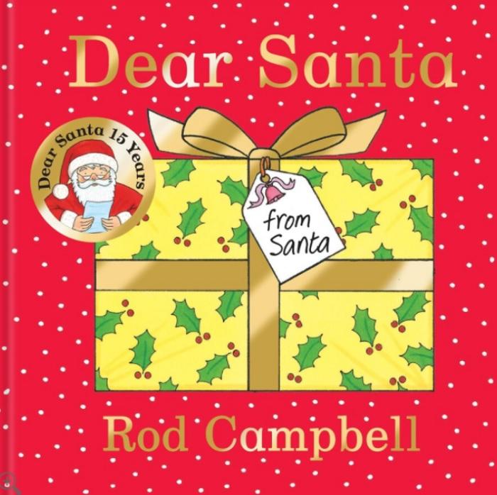 dear santa board book