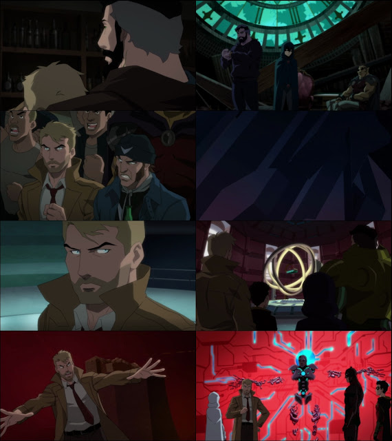 Justice League Dark: Apokolips War 2020 English 720p WEBRip