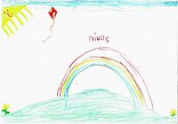 ODOS newspaper: ζωγραφιά του μικρού Νικόλα