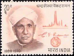 daak ticket CV raman