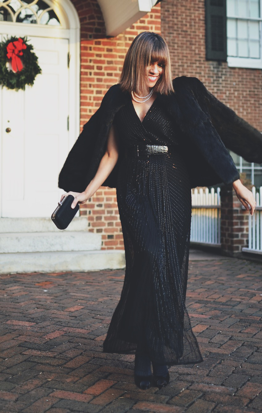 Black-Tie Outfit Street Style