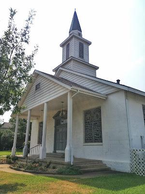 woods chapel baptist church arlington tx usa historic landmark