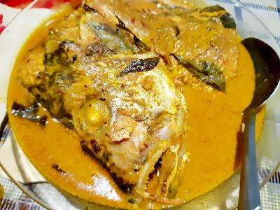 Ikan Unga Masak Kari Tak Cukup Bahan Tetap Sedap!