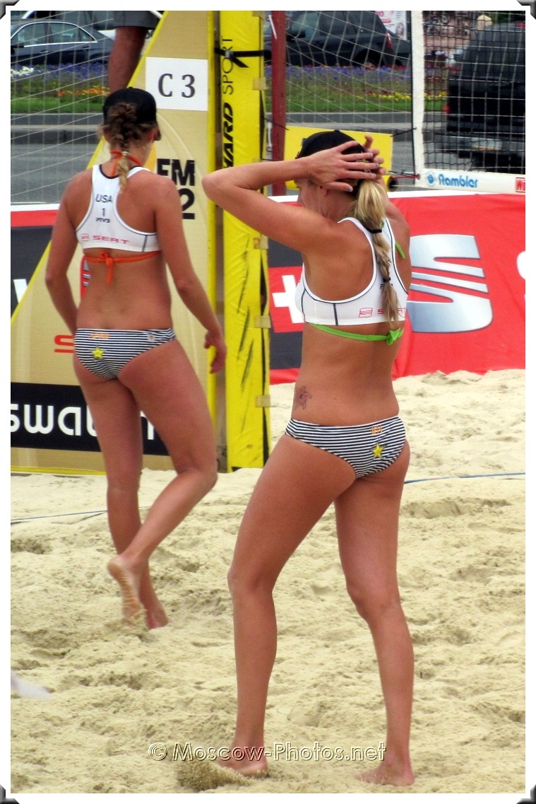 U.S. women's beach volleyball team