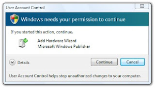Cara menonaktifkan UAC (user account control) windows vista