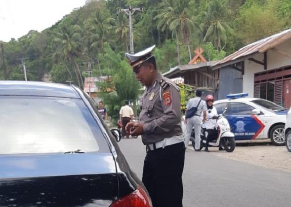 Operasi PKB Polres Kepulauan Selayar Berhasil Jaring Kendaraan Penunggak Pajak