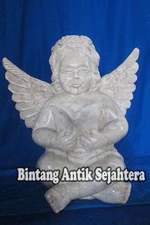 Patung Marmer Angel