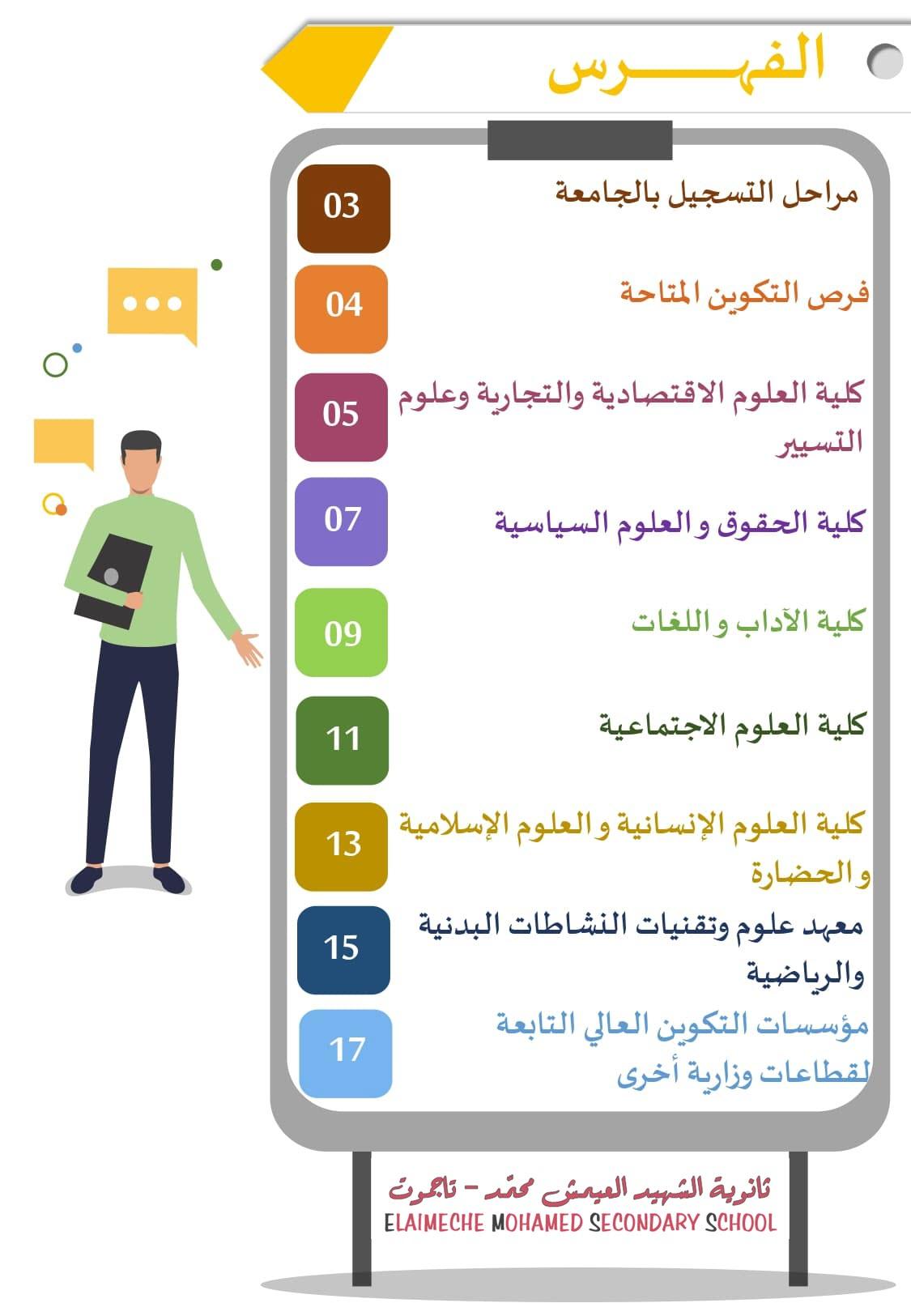 دليل الطالب الناجح في البكالوريا