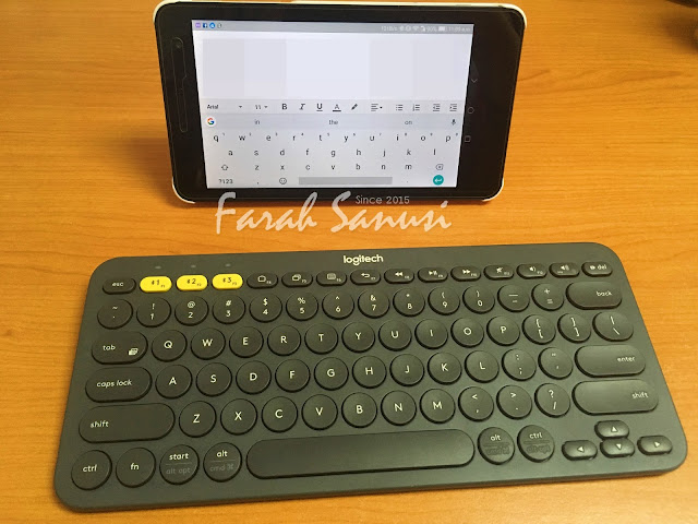 Keyboard Bluetooth Logitech Memudahkan Kerja